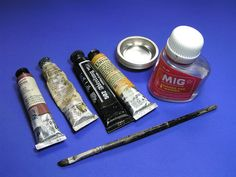 How to Use Washes Oil, Tamiya panel line accent color, Citadel - Great G...