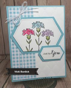 Today I am sharing a card I made a while back and had not posted. This one uses the fun Inspiring Iris s. Stamping Up Cards, Get Well Cards, Pretty Cards, Card Sketches, Sympathy Cards, Scrapbook Cards, Scrapbooking, Paper Cards, Kids Cards