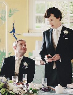 When I first saw this picture, I hadn't watch that episode yet so I thought that johnlock actually happened. But after watching the episode, my dreams were crushed.