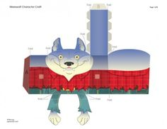 Blog_Paper_Toy_papertoy_Werewolf_papercraft_Craig_Mackay_template_preview
