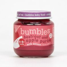 Bumbles™ Baby Food Beetroot and Apple Purée with Quinoa on bumbles.co.za Gerber Baby, Beetroot, Baby Food Recipes, Quinoa, Apple, Healthy, Recipes For Baby Food, Apple Fruit, Health