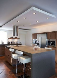 Below are the Popular Modern Kitchen Design Ideas. This article about Popular Modern Kitchen Design Ideas was posted under the Kitchen category by our team at May 2019 at pm. Hope you enjoy it and don't forget to . Kitchen Ceiling Design, Kitchen Room Design, Best Kitchen Designs, Kitchen Cabinet Design, Modern Kitchen Design, Home Decor Kitchen, Kitchen Furniture, Kitchen Interior, Kitchen Ideas