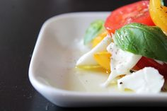 Caprese salad Recipe, because it's that time of the year