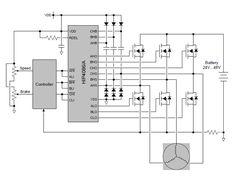 3 Phase Brushless Bldc Motor Driver Circuit Brushless