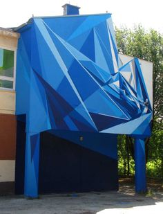entre peinture et architecture ... joli travail de Bartek Świątecki !