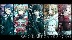 Sword Art Online Characters,