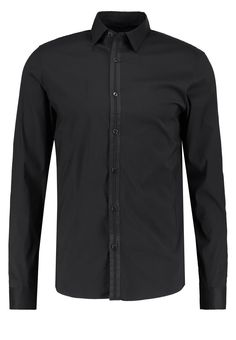 Michael Kors SLIM FIT Hemd black Premium bei Zalando.de | Material Oberstoff: 67% Baumwolle, 30% Nylon, 3% Elasthan | Premium jetzt versandkostenfrei bei Zalando.de bestellen!