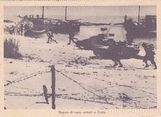 Landing of Tanks in Crete   eBay