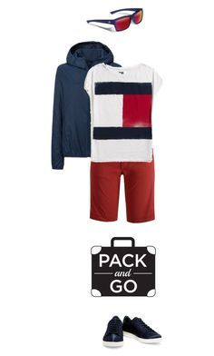 """""""Pack & Go"""" by kjstylerussia ❤ liked on Polyvore featuring Uniqlo, Black Diamond, Tommy Hilfiger, Iris & Ink, Gargoyles and rio"""