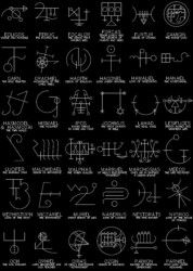 Demon's sigils patches | Depressive Illusions Records Rune Symbols, Runes, Ancient Demons, Demonology, Black Metal, Magick, Illusions, Patches, Ancient Symbols