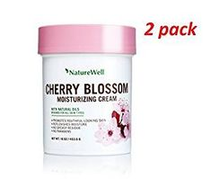Naturewell Cherry Blossom Moisturizing Cream Dye Free, with Natural Oil 16 oz 2-pack Review