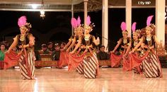 traditional dance from Central Java
