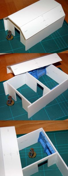 A Hobbyist's Blog: Project: Foamcore City, Part 2