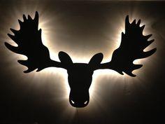 Moose head light #dope