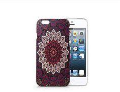 Mandala Iphone 6 case, Iphone 6 Case Plastic Hard White Cover Skin Case (4.7'' Screen)-Quindyshop