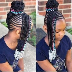 53 Box Braids Hairstyles That Rock - Hairstyles Trends Box Braids Hairstyles, Lil Girl Hairstyles, Black Kids Hairstyles, Girls Natural Hairstyles, Kids Braided Hairstyles, Teenage Hairstyles, Fashion Hairstyles, Hairstyles 2016, Girl Haircuts