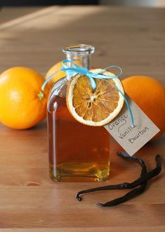 Orange and Vanilla Bourbon | 15 Last-Minute Infused Alcohols To Show Someone You Really Care