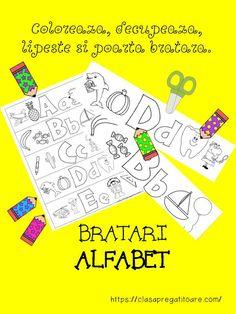 Clasa pregatitoare: Brățări alfabet
