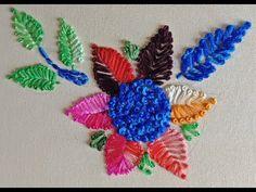 Hand Embroidery Flowers II শাবু দানা শিলি ফুল - YouTube Basic Embroidery Stitches, Hand Embroidery Flowers, Ribbon Embroidery, Handicraft, Crafts, Tutorials, Watch, Youtube, Needlepoint