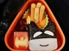 The Caped Crusader is back and he\'s paid our bento a visit!