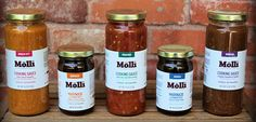 Molli sauces now available for nationwide delivery via Artizone.