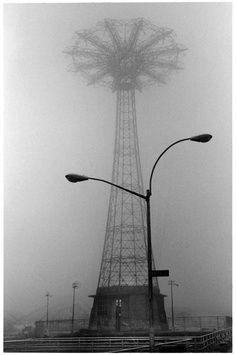 Coney Island fog.