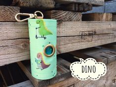 Dog Poop bags dispenser /waste bag holder Dino by QTPET on Etsy Fusible Interfacing, Cat Hair, Butterfly Flowers, Dog Harness, Your Dog, Pup, Dogs, Fabric, Handmade