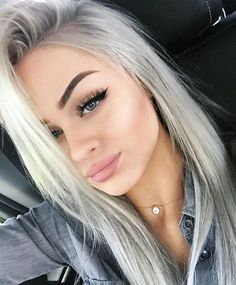 Natural look nude lips