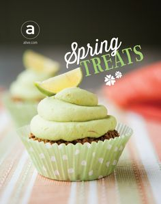These avocado sweets will launch your tastebuds into spring. If you're looking for refreshing new ways to add this buttery fruit to your diet, look no further than these nourishing #vegan and #glutenfree desserts. #cleaneating
