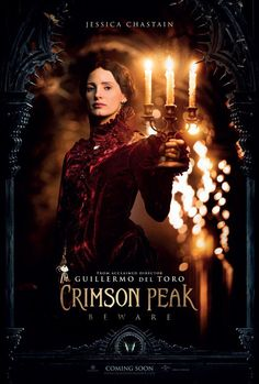 Pin for Later: Charlie Hunnam and Tom Hiddleston Are Creepily Sexy in Their Crimson Peak Posters Jessica Chastain as Lady Lucille Sharpe