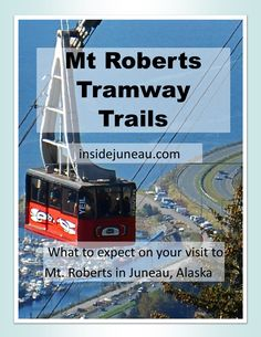 Get your ticket! Let's take a ride on the Mount Roberts Tramway in Juneau. Find out what you can expect when hiking the trails on Mount Roberts. Cruise Excursions, Shore Excursions, Cruise Vacation, Alaska Cruise Tips, Alaska Travel, Alpine Loop, Juneau Alaska, Alaskan Cruise, Get Tickets
