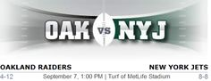 Oakland Raiders vs. New York Jets NFL Preview - #Oakland #NewYork #Raiders #Jets #Raidernation #Jetsnation #Buttfumble
