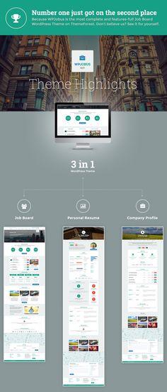 WordPress - WPJobus - Job Board and Resumes WordPress Theme | ThemeForest