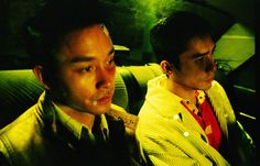 UNPUBLISHED BEHIND-THE-SCENES IMAGES FROM THE SET OF 'HAPPY TOGETHER' BY WONG KAR WAI, STARRING LESLIE CHEUNG & TONY LEUNG, PHOTOGRAPHED BY WING SHYA