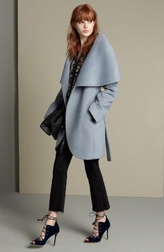 This Blue Coat Will Transform Your Wardrobe