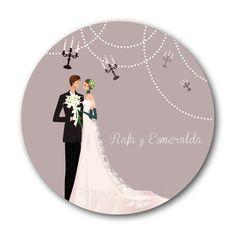 ♥ Noly Gil: ♥ Posavasos para bodas (para imprimir en imprenta)