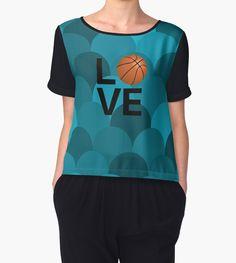 Basketball Chiffon Tops #Basketball