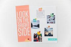 Helping you craft the story of your life. Ali Edwards, On The Bright Side, March, Creative, Layouts, Blog, Crafts, Scrapbooking, Life