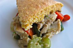 Turkey Pot Pie With Cornbread Crust