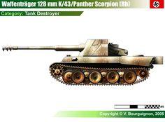 Waffenträger für 12.8cm K43 Scorpion