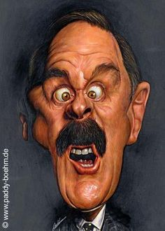 John Cleese (English actor,comedian,writer,film producer) by Tamer Youssef