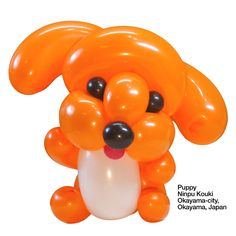 Orange entries Balloon Puppy Ninpu Kouki Okayama-city, Okayama, Japan