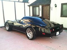 1980 CHEVROLET CORVETTE C3. Chrome blacked and tinting. Had paint and a plan. Drove like a butterknife balanced on finger.