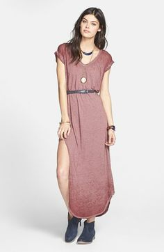 Free People 'Keep Me' Maxi Dress available at #Nordstrom