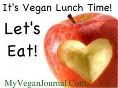 wondering what to make for lunch??!  well, here ya go!! #MyVeganJournal
