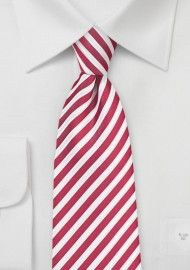 Striped Ties | Striped Neckties | Shop Striped Mens Ties | Cheap-Neckties.com Coral Tie, Pink Ties, Coral Color, Red Stripes, Stripes Design, Groom And Groomsmen Looks, Red Colour Palette, Tie Shop, Satin Color
