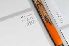 A corporate design developed by Bureau Rabensteiner for Dr. Waldhart, a passionate emergency and expedition doctor from Austria. Logo Branding, Brand Identity, Branding Design, Letterhead, Corporate Design, Brand It, Blog, Stationery, Behance