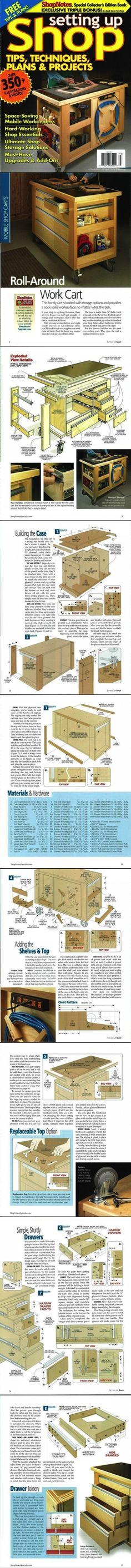 ShopNotes Magazine / Setting Up Shop 2009