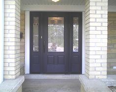 ThermaTru SmoothStar fiberglass door with Sedona