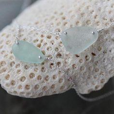 Boho Sea Glass Pendant